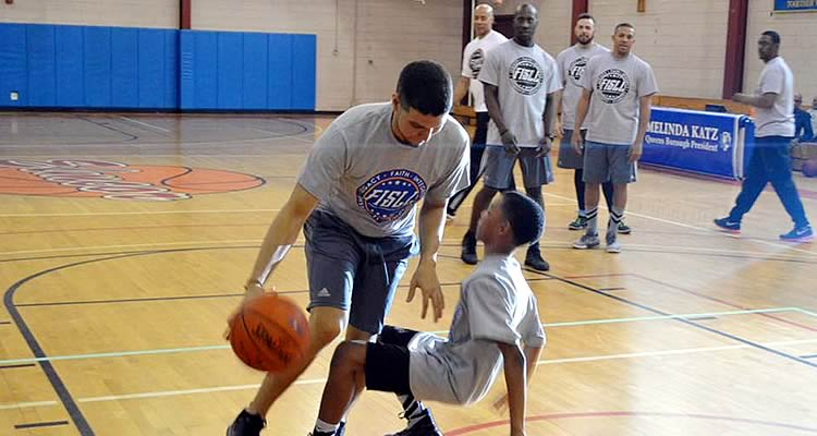 Elmcor's M5 Basketball Clinic in Corona Queens