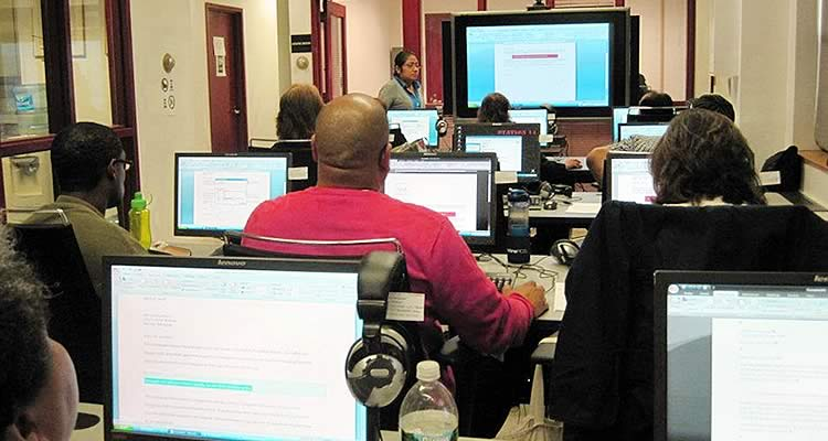 Elmcor economic development services providing Microsoft software and computer training