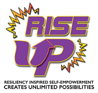Elmcor's Rise Up logo