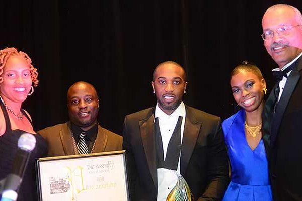 Elmcor award event with Saeeda