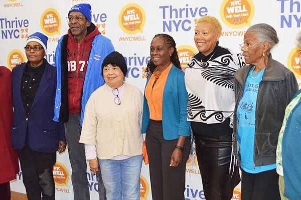 Chirlane McCray at Elmcor Thrive NYC