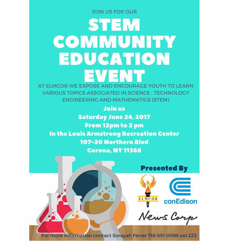 Elmcor's STEM Communication Education event on June 24, 2017