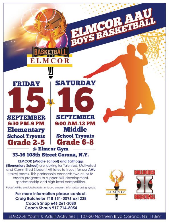 Elmcor AAU Boys Basketball