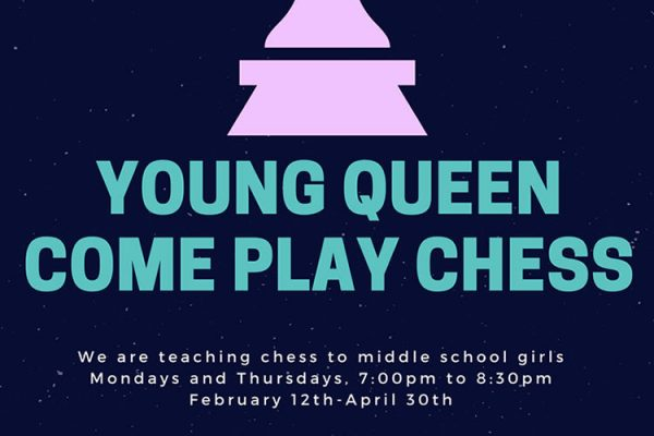 Young Queen Come Play Chess at Elmcor.org in Corona Queens NY