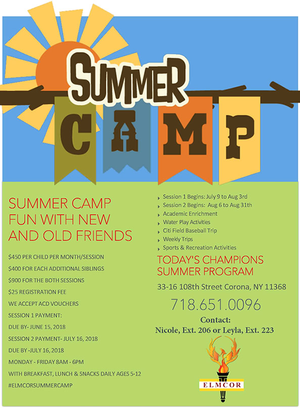 Elmcor summer camp 2018