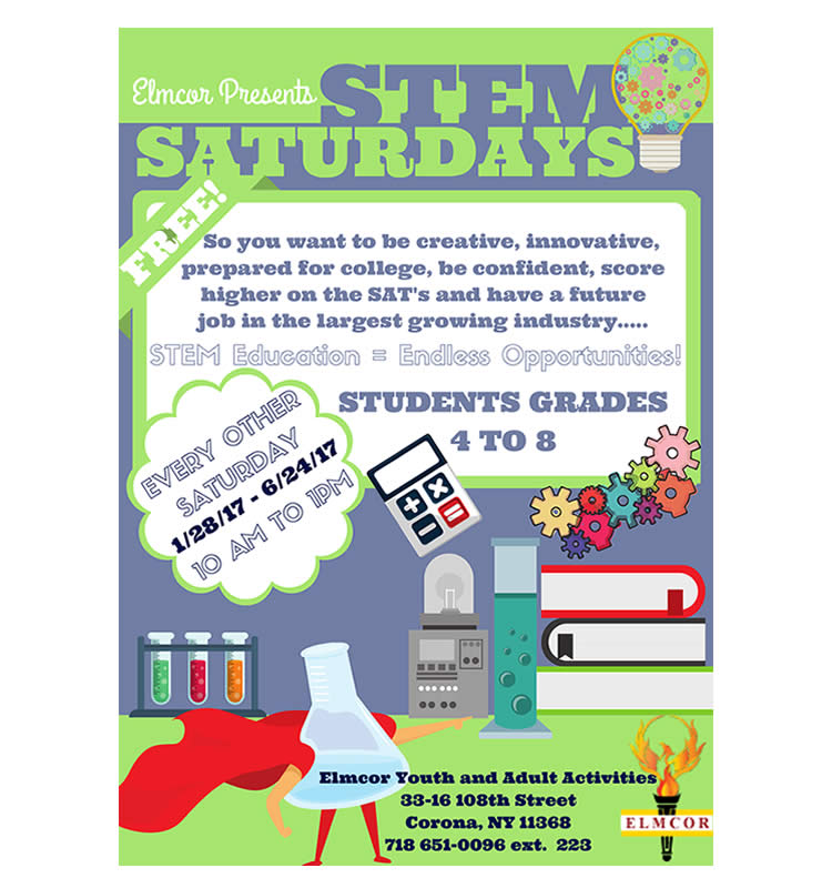 STEM Saturdays at Elmcor Youth & Adult Activity in Corona Queens New York