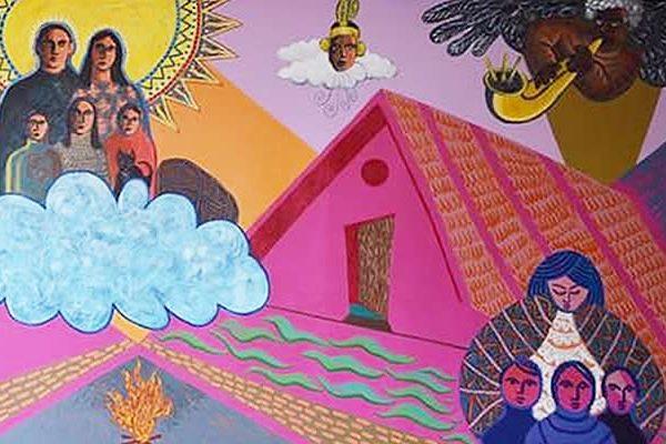 Elmcor mural