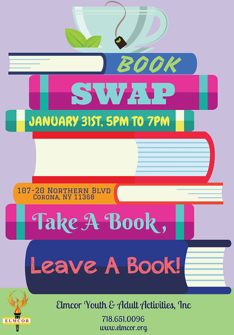 Elmcor Youth and Adult Activities Book Swap