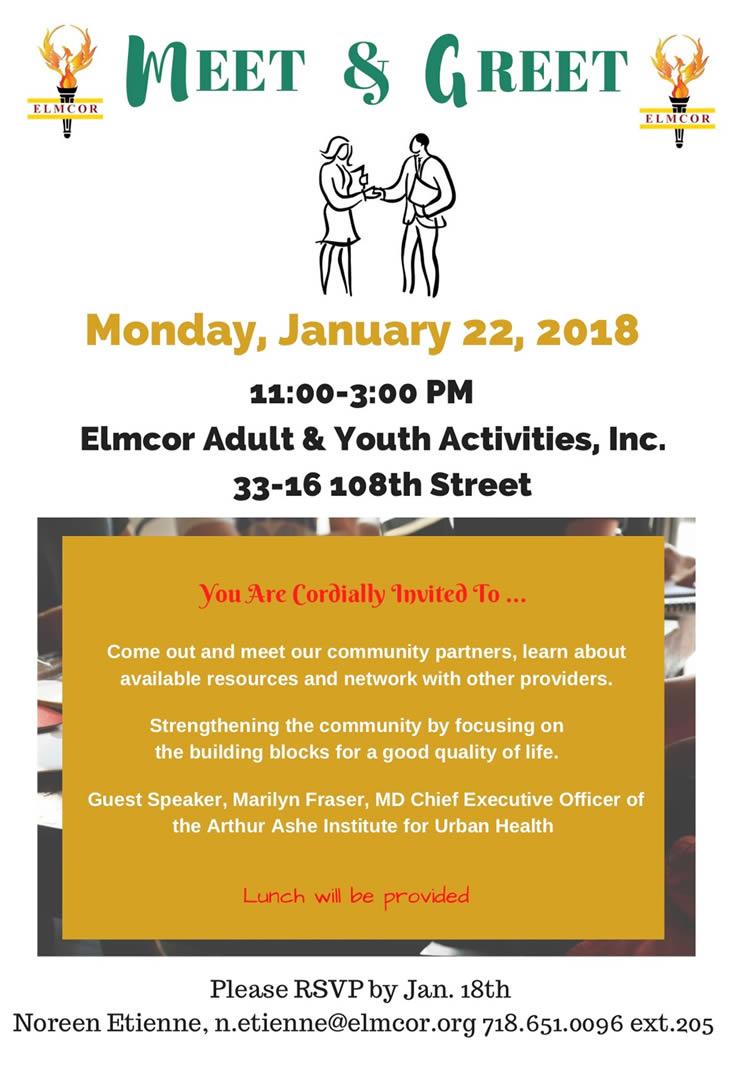 Elmcor's Meet & Greet 2018