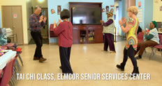 Elmcor senior center in Queens NY